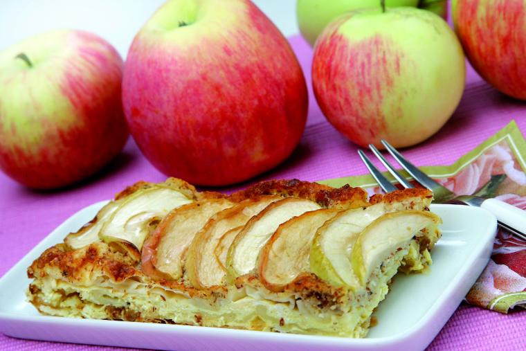 Gibanica z jabolki