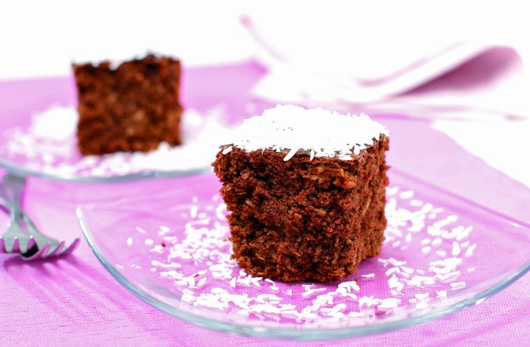 Čokoladni kolač s kokosom