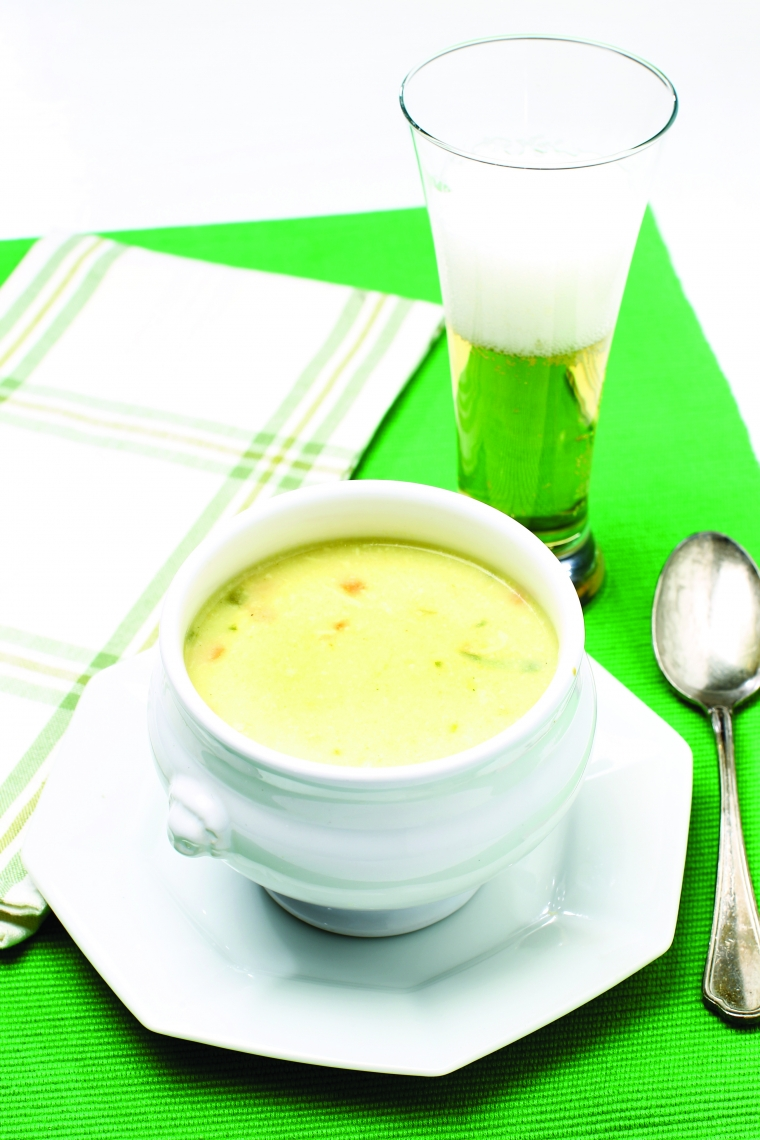 Sirova kremna juha s pivom