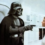 carrie fisher, darth vader