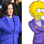 Lisa Simpson Kamala Harris
