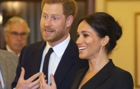 Uradno: Meghan in Harry bosta spomladi zibala