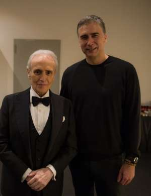 Jose Carreras in Jan Plestenjak