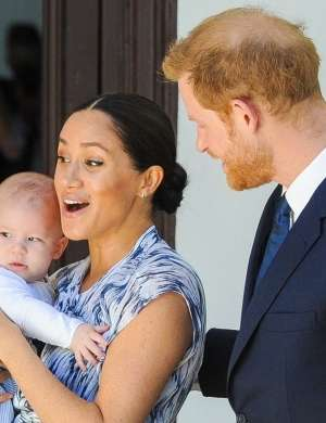 Meghan Markle, princ Harry, Archie