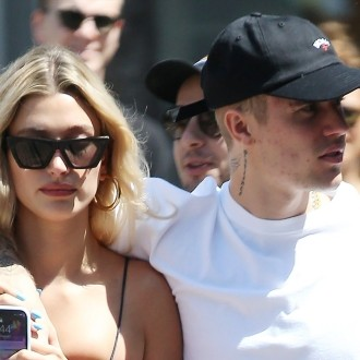 Justin Bieber in Hailey Baldwin
