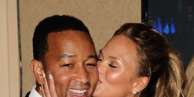 Chrissy Teigen in John Legend
