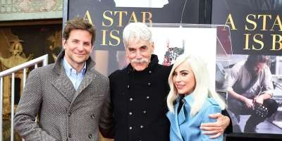 Bradley Cooper, Sam Elliott in Lady Gaga
