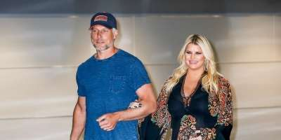 Jessica Simpson in njen mož Eric Johnson