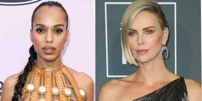 Charlize Theron in Kerry Washington