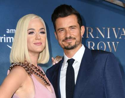 Orlando Bloom in Katy Perry
