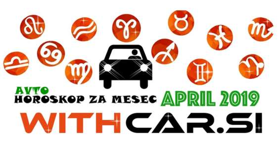 Avtoskop za mesec april 2019