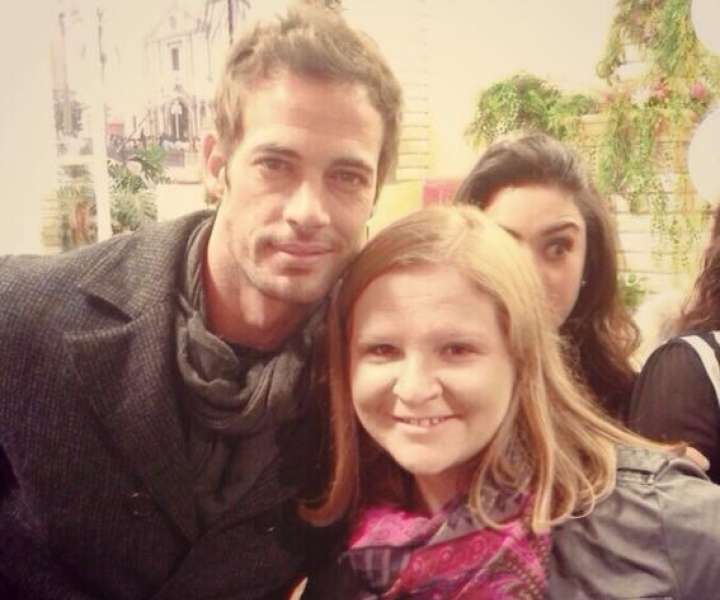 Alma in William Levy ob njenem prvem obisku Mehike.