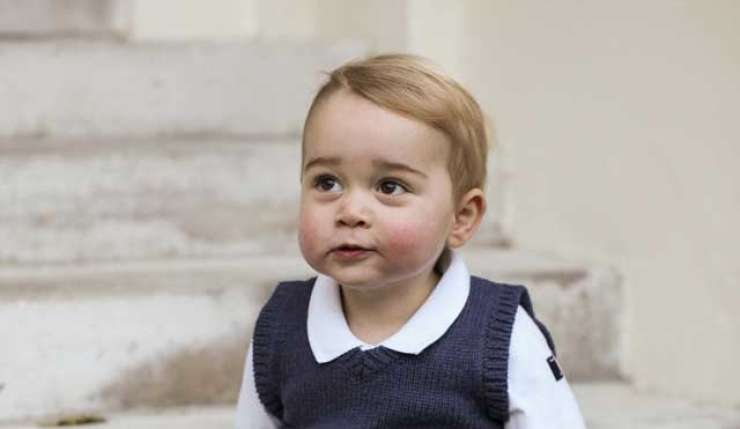William in Kate objavila božične fotografije princa Georgea