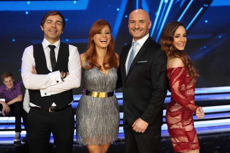 Slovenija ima talent: Lado Bizovičar, Marjetka Vovk, Ana Klašnja, Branko Čakarmiš,