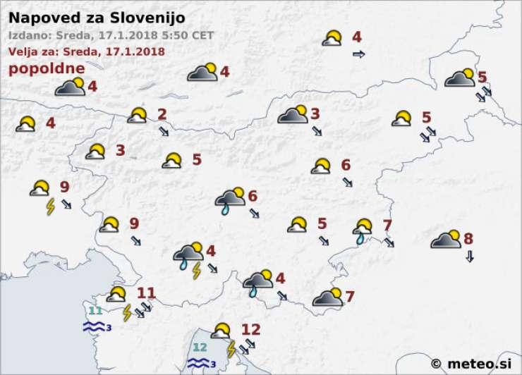 Vreme Danes Plohe In Nevihte V Petek Pa Spet Sneg Revija Reporter