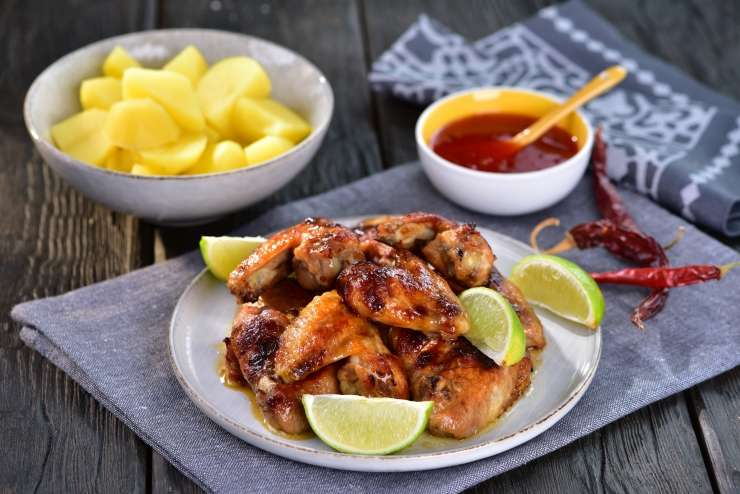 Recept: Marinirana piščančja krila.