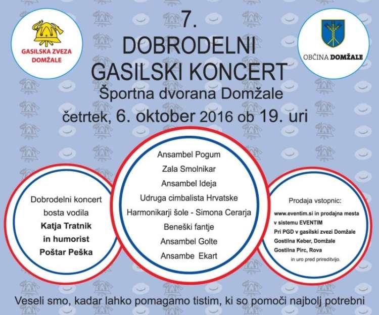 Domžalski gasilci vabijo na dobrodelni koncert - Veseljak.si 2cd07b36e04