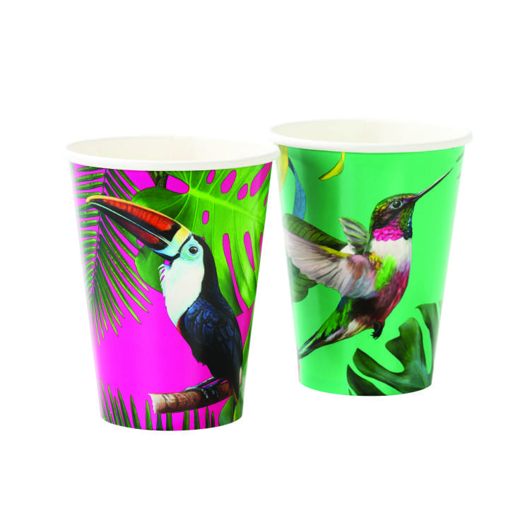 d Talking Tables   Tropical Fiesta   Large Toucan Cups Pink And Green .jpg