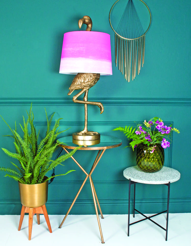 d Brass Flamingo Table Lamp- Ombre Shade.jpg