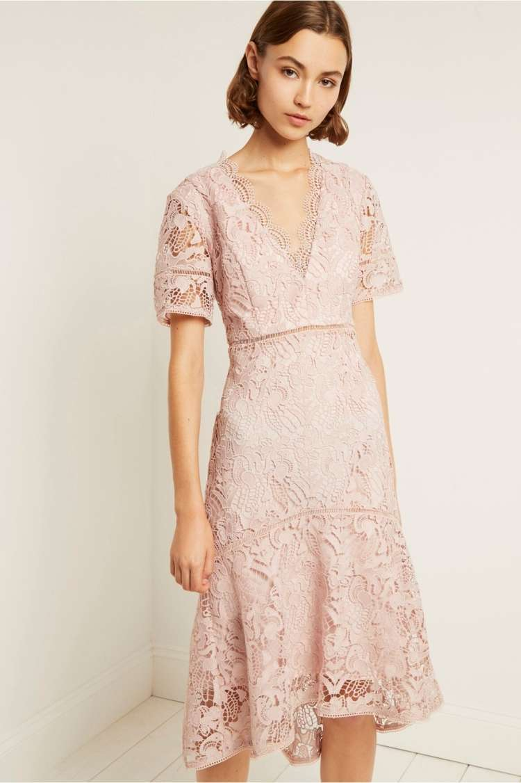 french connection-vintageteagown-calli-lace-v-neck-dress.jpg