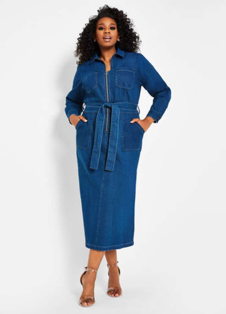 ashley stewart denim dress.jpg
