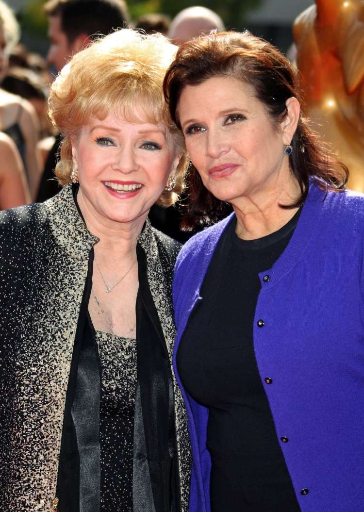 Debbie Reynolds in Carrie Fisher