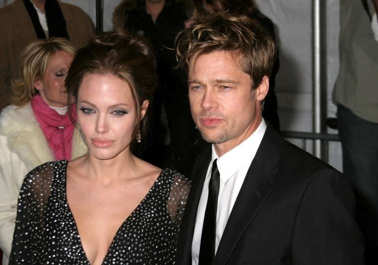 Brad Pitt in Angelina Jolie
