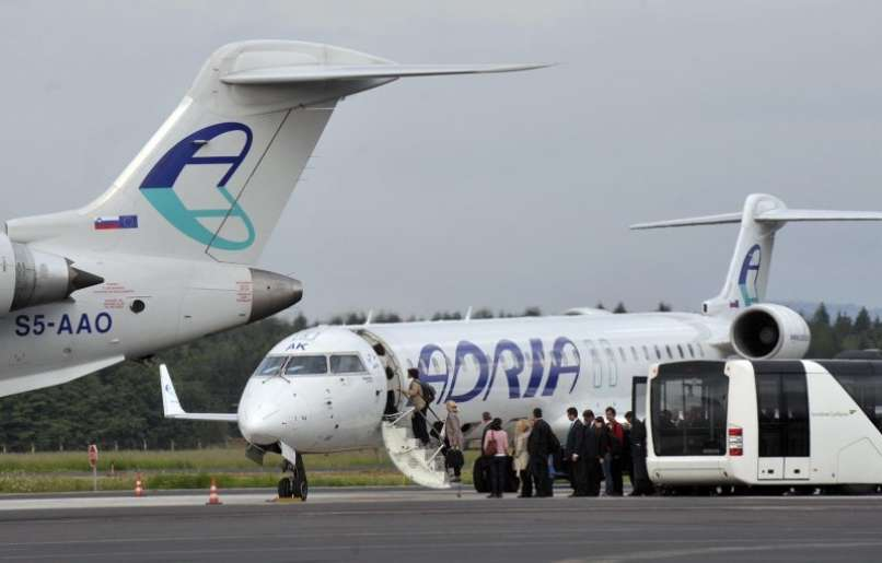 Letalo Adria Airways
