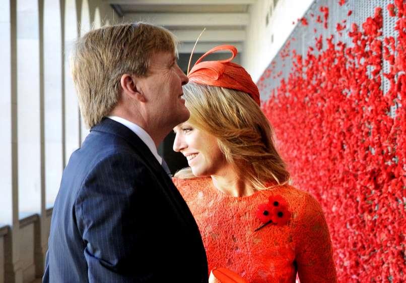 King Willem-Alexander of the Netherlands, wife, queen, Maxima