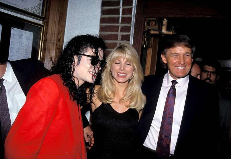 Michael Jackson, Marla Maples, Donald Trump