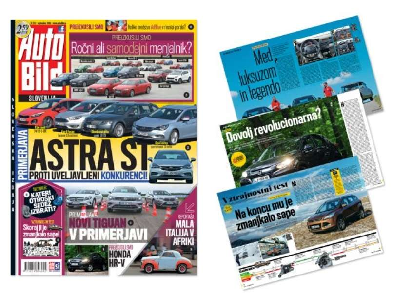 AUTO BILD Slovenija - september 2016