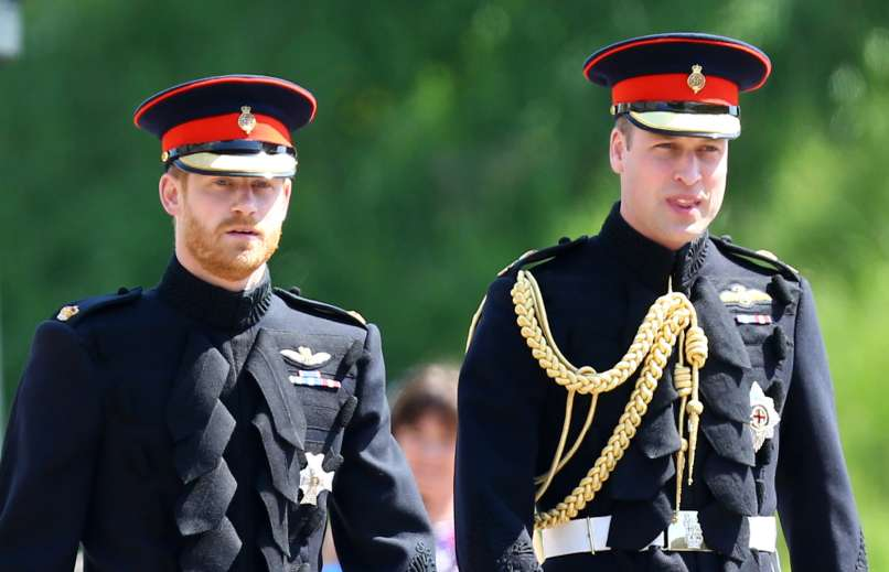 princ harry, william
