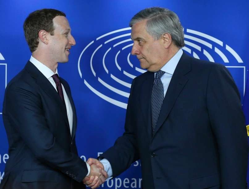 mark zuckerberg, antonio tajani