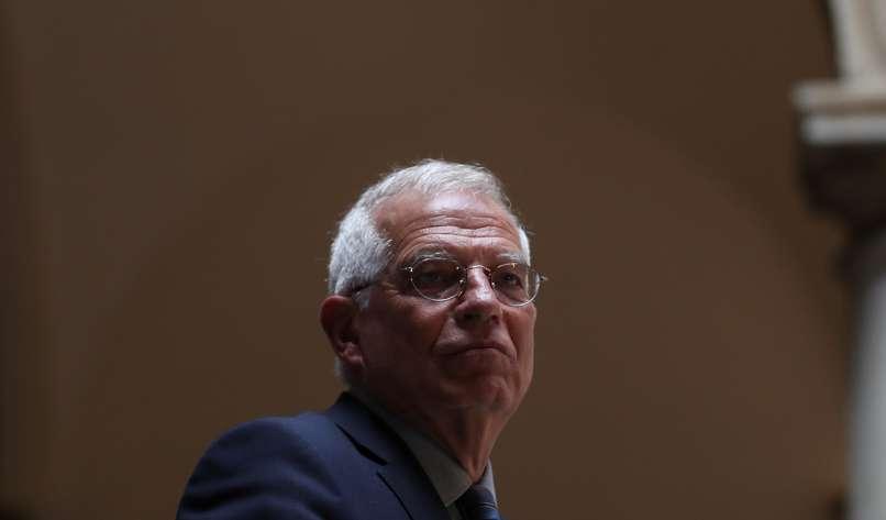 Josep Borrell - Na ukrajinski meji 150.000 vojakov?
