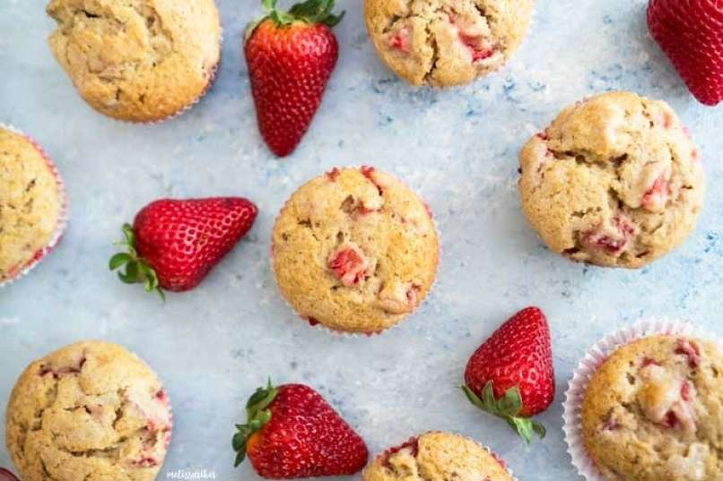 how-to-make-strawberry-muffins