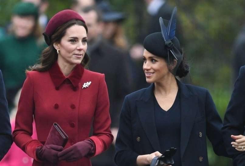 Kate Middleton, Meghan Markle (2)
