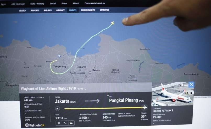 indonezijsko letalo, lion air