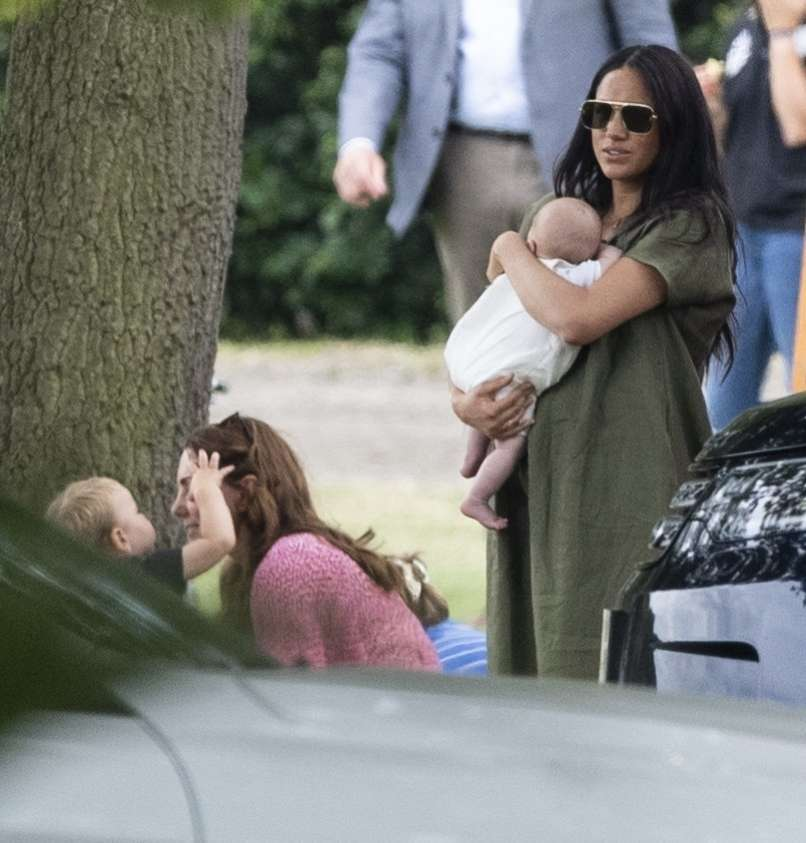 Meghan Markle, Archie, Kate Middleton