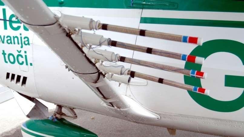 letalo, obramba proti toči