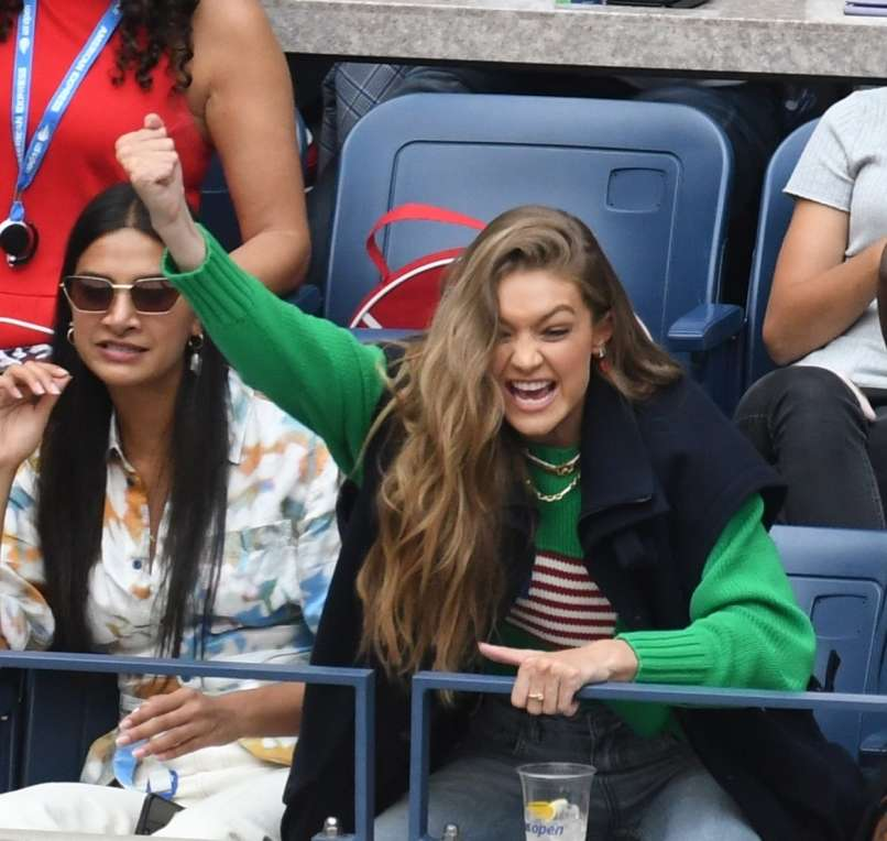 gigi hadid, serena williams