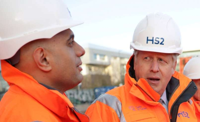 sajid javid, boris johnson