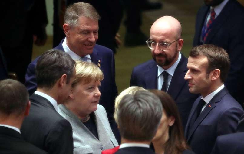 top eu, budget, emmanuel macron, angela merkel, charles michel, Klaus Iohannis