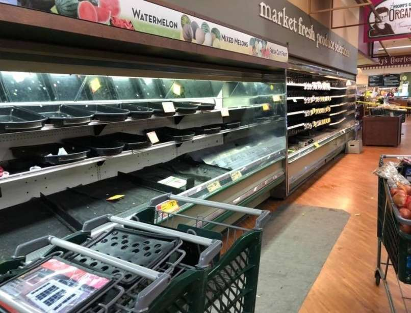 siêu thị, kệ, thực phẩm