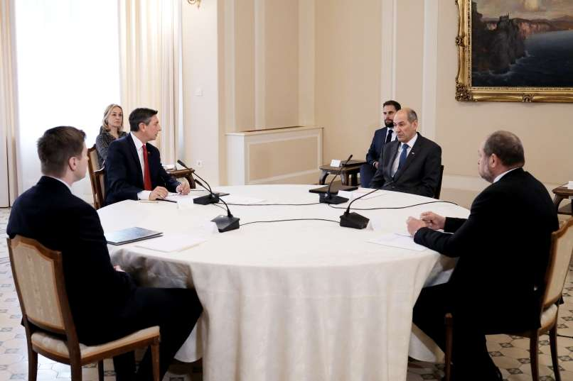 Extraordinary meeting of the four Presidents