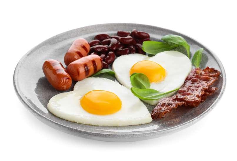 zajtrk, jajca