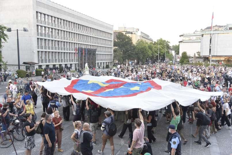 shod, protest, ljubljana, 10.-7