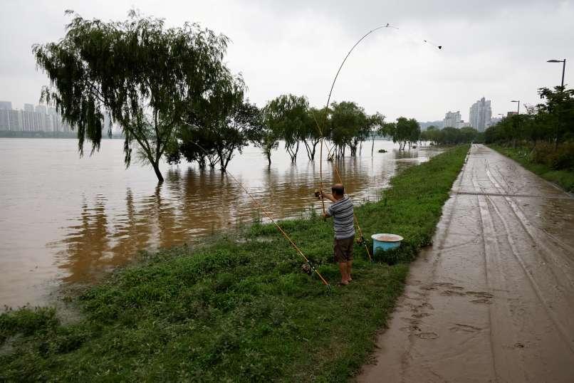 seul, južna-koreja, poplave, monsun