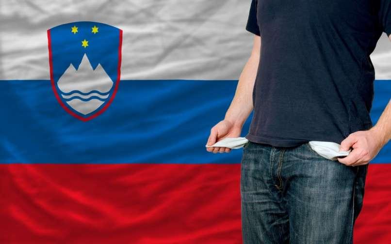 Slovenija, kriza, revščina, recesija,