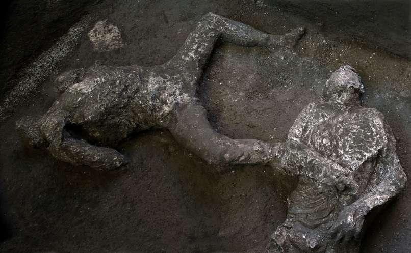 pompeji, suženj, bogataš, arheologija