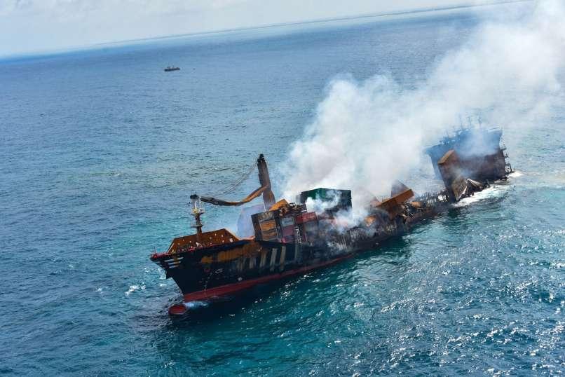 Ladja X-Press Pearl - Šrilanka se pripravlja na katastrofo.